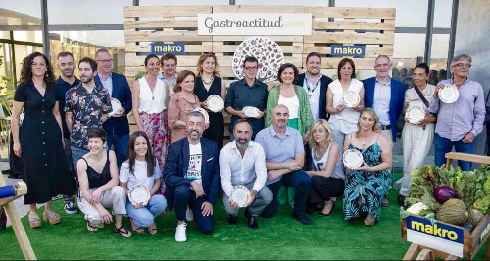 Galardonados con los Premios Gastroactitud 2019