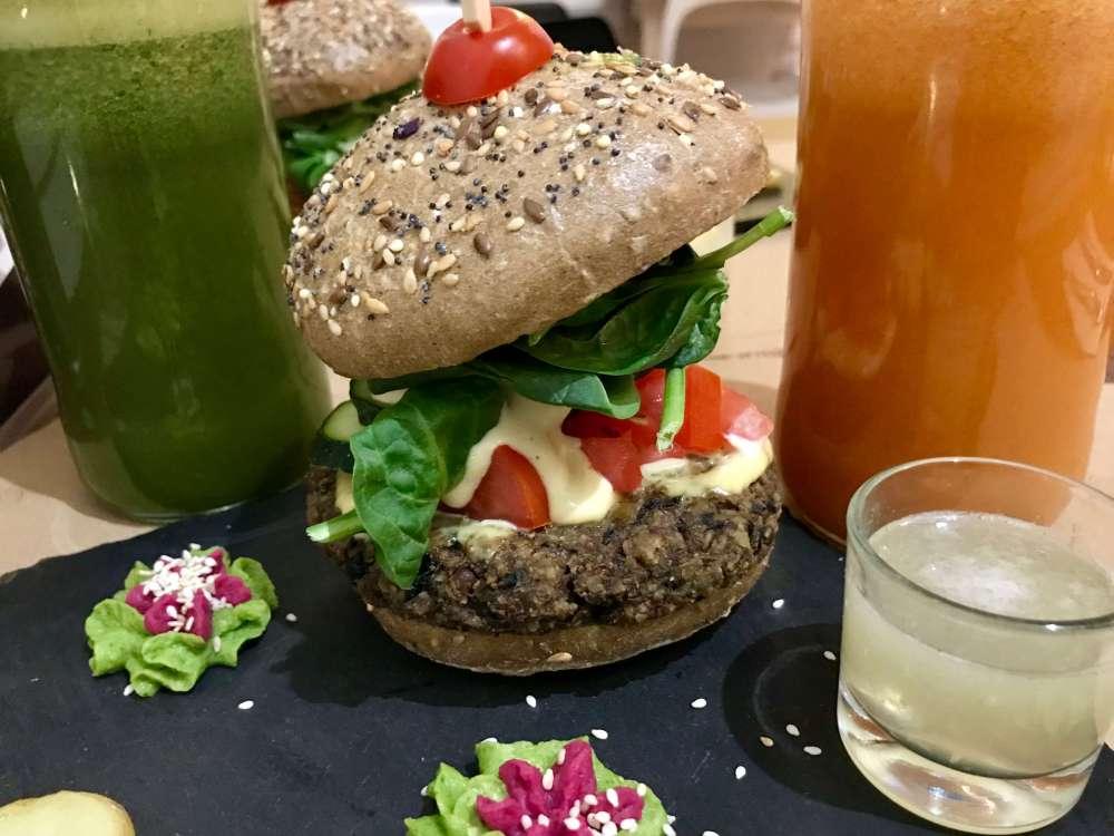 Hambueguesas veganas