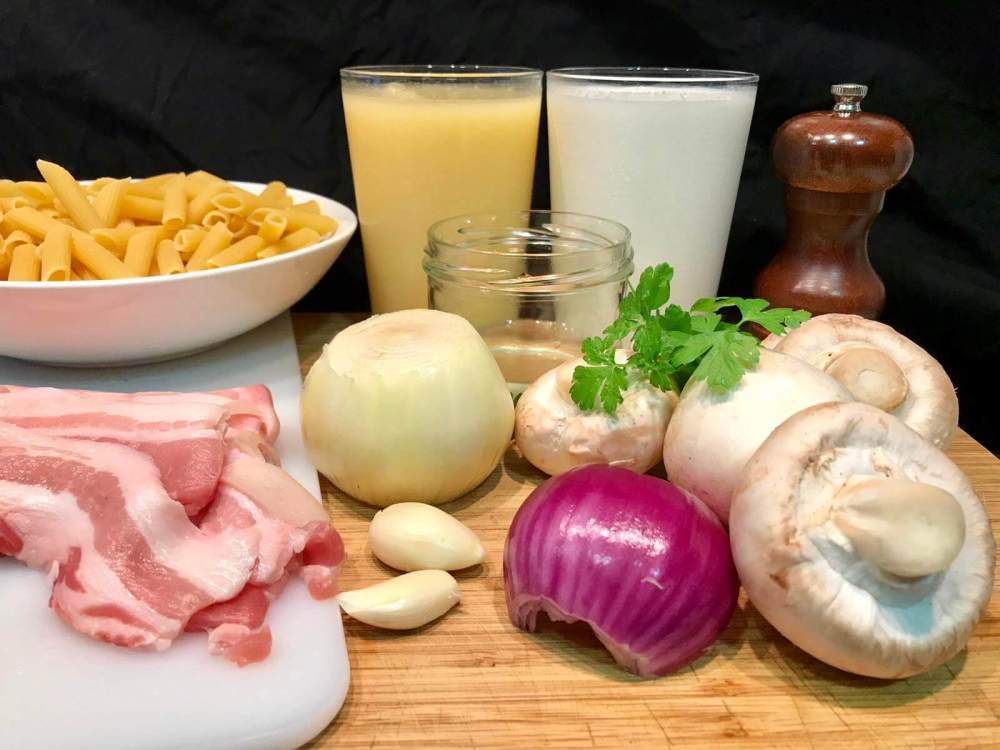 Ingredientes de receta