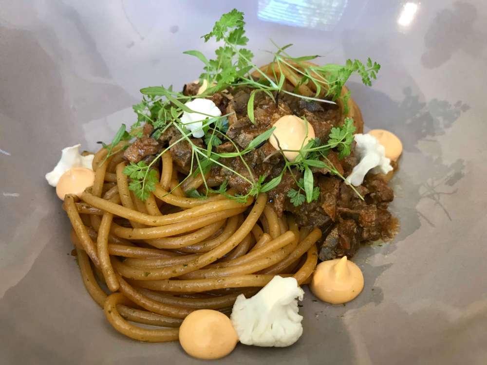 Espaguetis con boloñesa