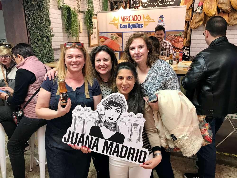 Showcooking con Juana Madrid y Zampatelmundo