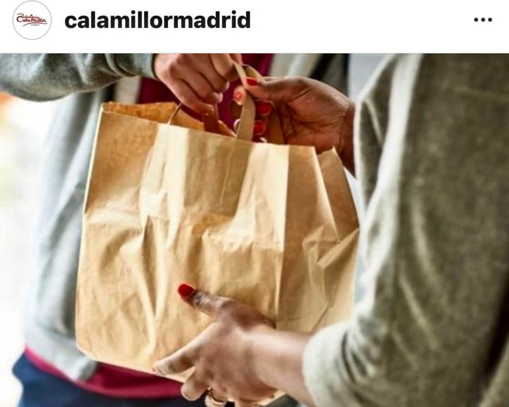 Comida a domicilio en Madrid