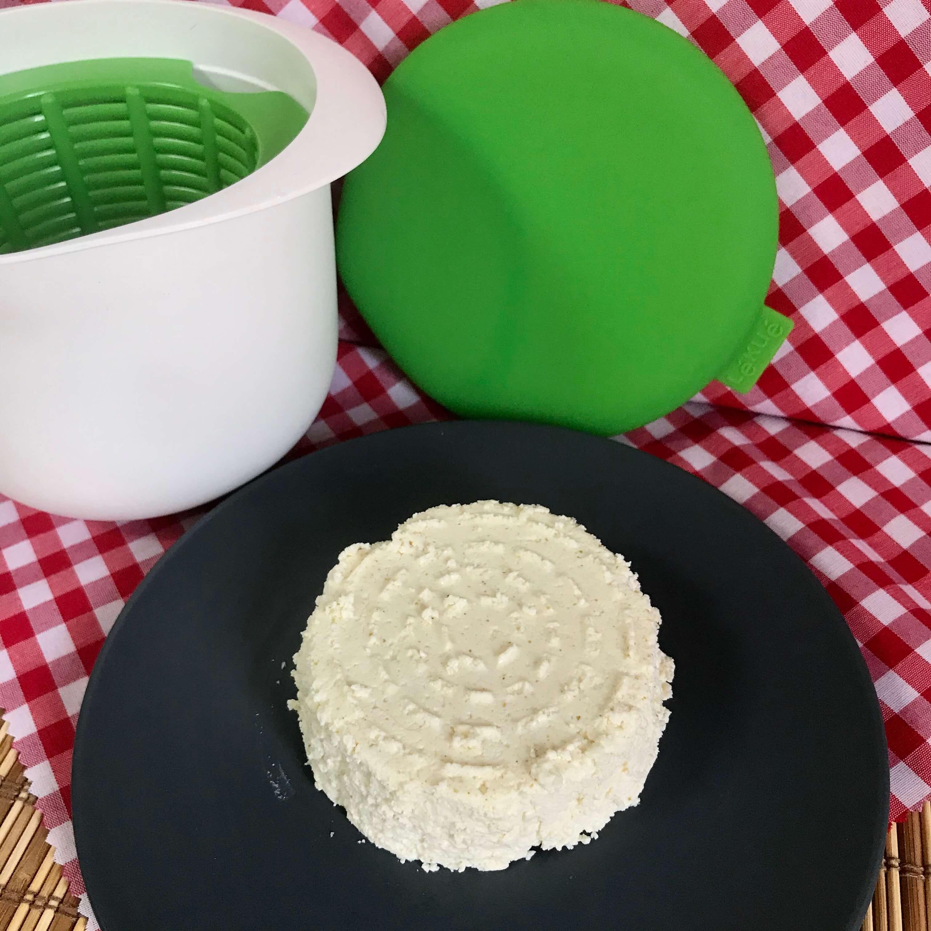 Receta de queso fresco con Lékué