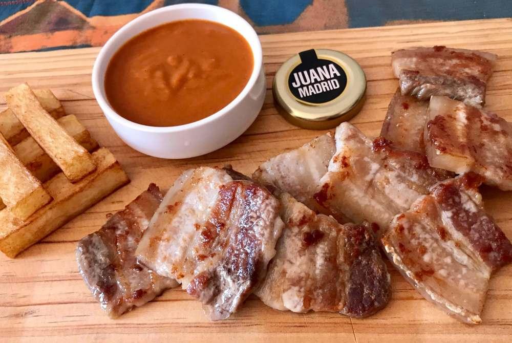 Patatas bravas y barbacoas con Juana Madrid