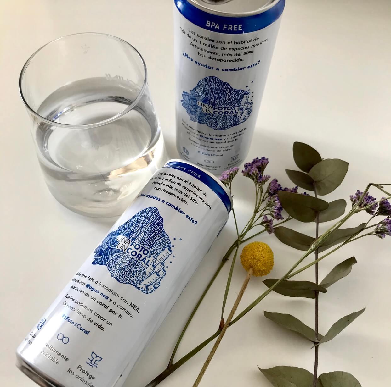 Agua Nea, la alternativa al plástico