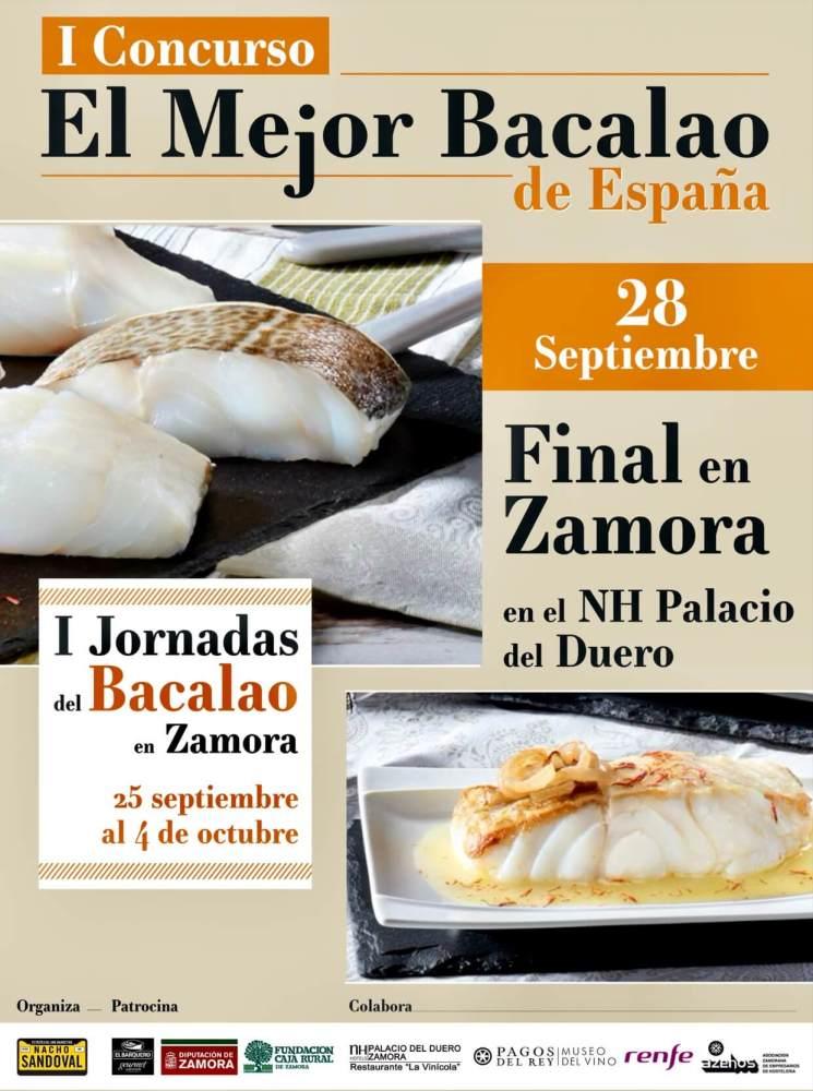 Concurso jornadas del bacalao en España
