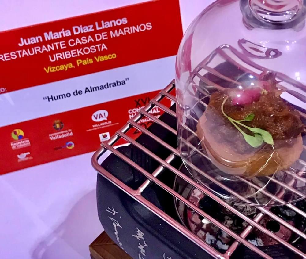 II Premio del concurso Nacional Pinchos y Tapas 2020 en Valladolid