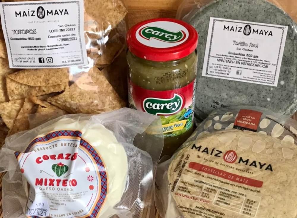 Productos de Maíz Maya