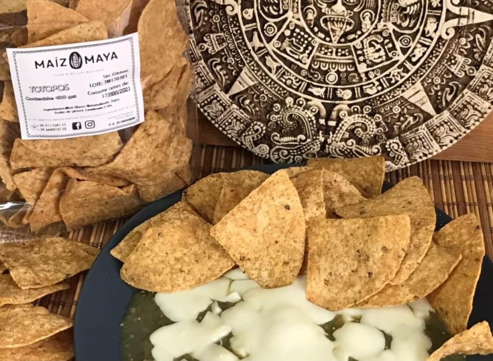 Cocina mejicana casera con Maíz Maya