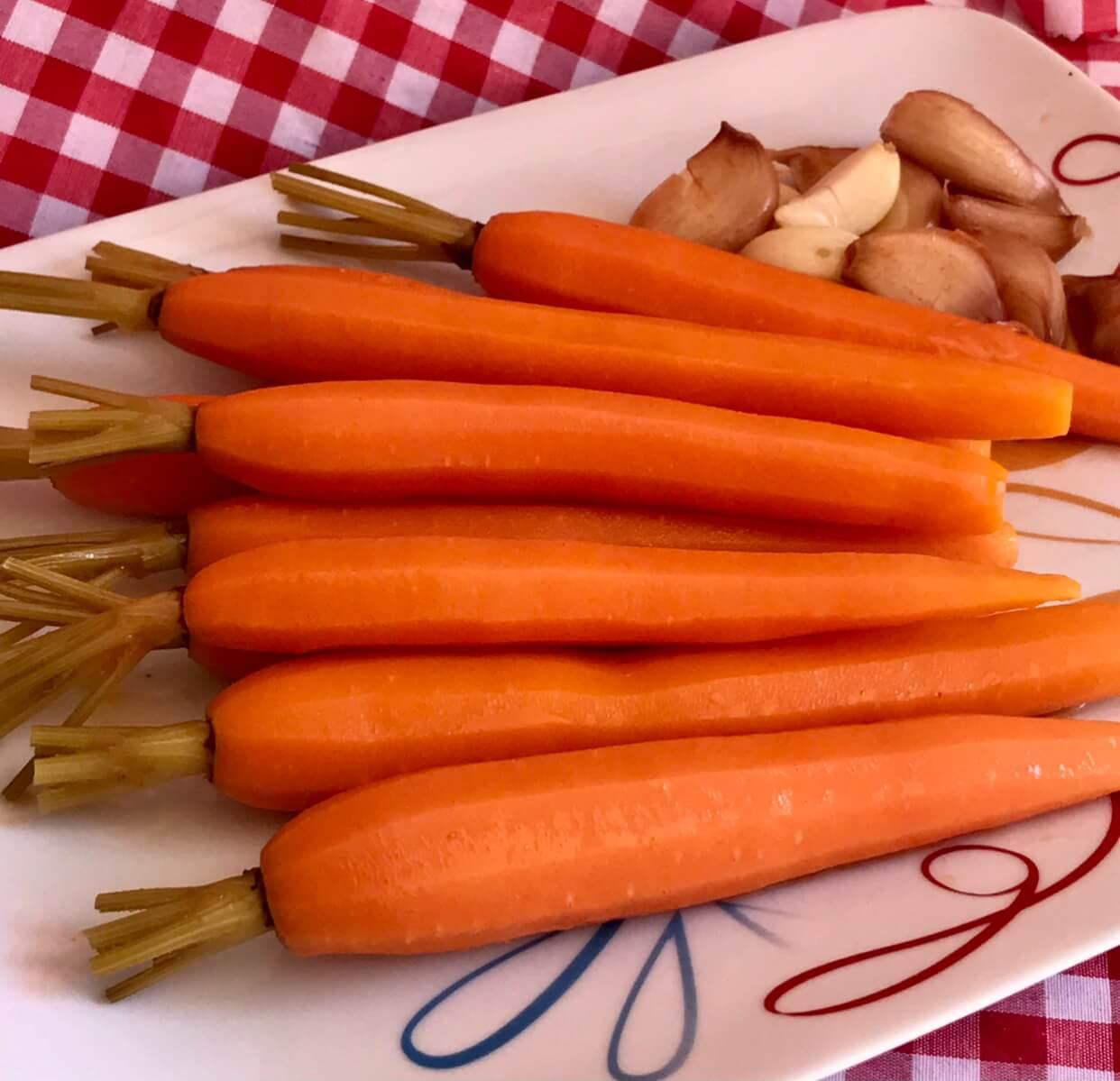 Receta de zanahorias en escabeche