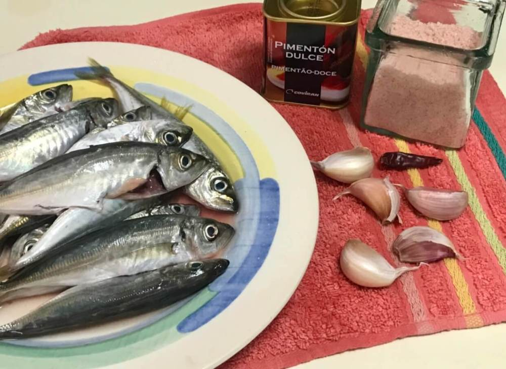 Escabeches de pescado
