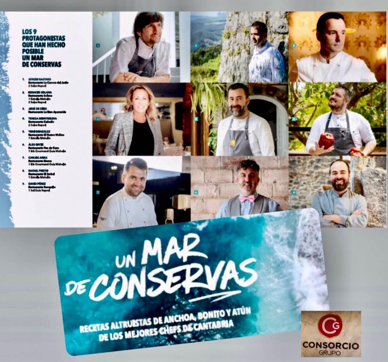 Un Mar de Conservas, el libro solidario de Grupo Consorcio