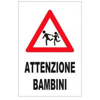 segnale attenzione passaggio bambini