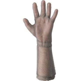 """Guanto in maglia d'acciaio antiscannamento con manichetta """"WILCO"""""""