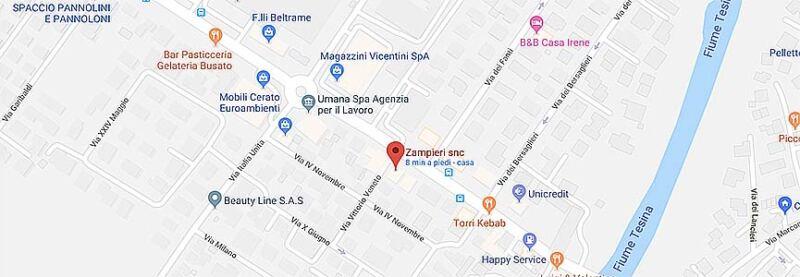 mappa zampieri store