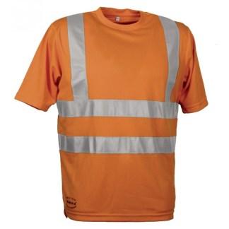 T-shirt Manica Corta Alta Visibilità DANGER