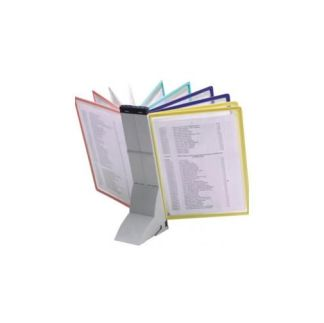 Espositore Leggio da scrivania da 10 cartelline formato A4