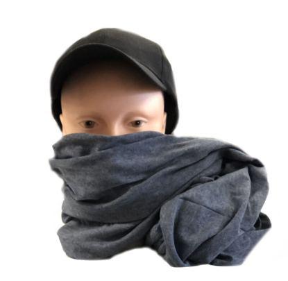Scaldacollo sciarpa estiva in misto cotone