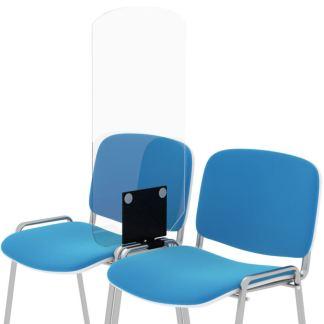 Separatore in plexiglass per sedie
