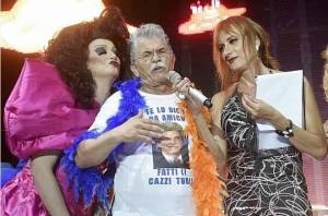 Antonio Razzi al Gay Village