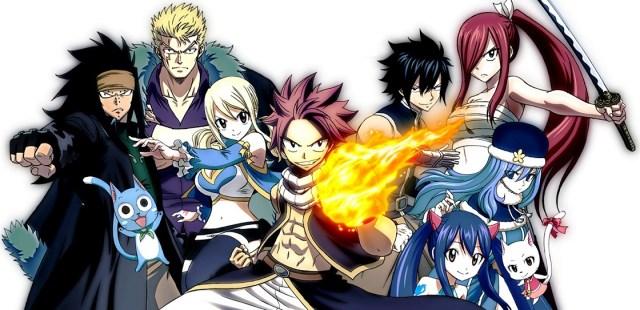 Fairy tail la serie anime basata sul manga di Hiro Mashima in onda su Rai Gulp