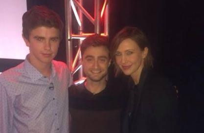 Freddie Highmore and Daniel Radcliffe