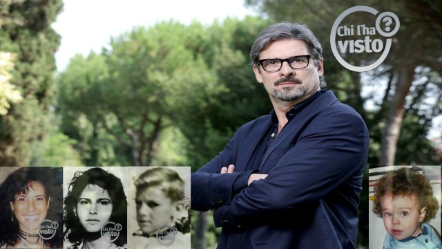 Giuseppe Rinaldi Chi l'ha visto storie di mercoledì 11 agosto