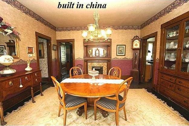 I mobile della casa costruiti in Cina