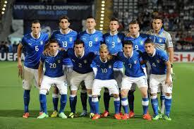 Inghilterra - Italia under 21 in tv