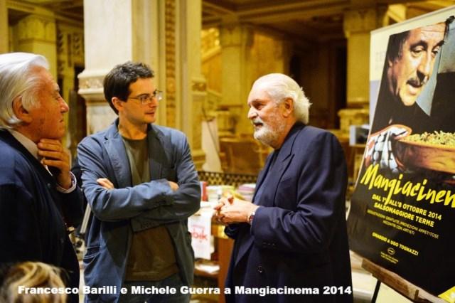Premio Mangiacinema - Creatore di Sogni a Francesco Barilli