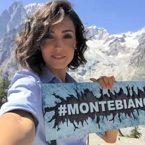 Caterina Balivo nel reality Montebianco