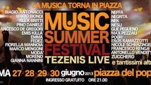 Music summer festival 2013