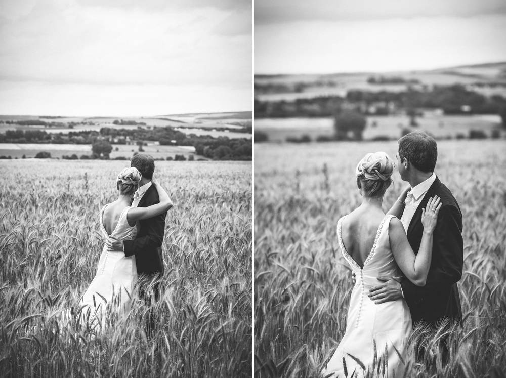 Hochzeitsfotografin Braunschweig  Portraits im Feld