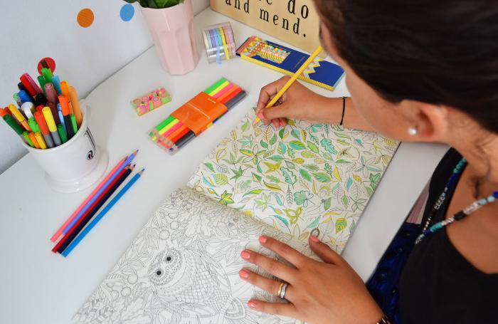 Secret Garden y el reencuentro con los libros de pintar - Zancada ...