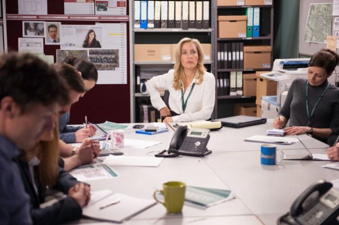 "Gillian Anderson in ""The Fall"" season 2.  Photo courtesy of Netflix"