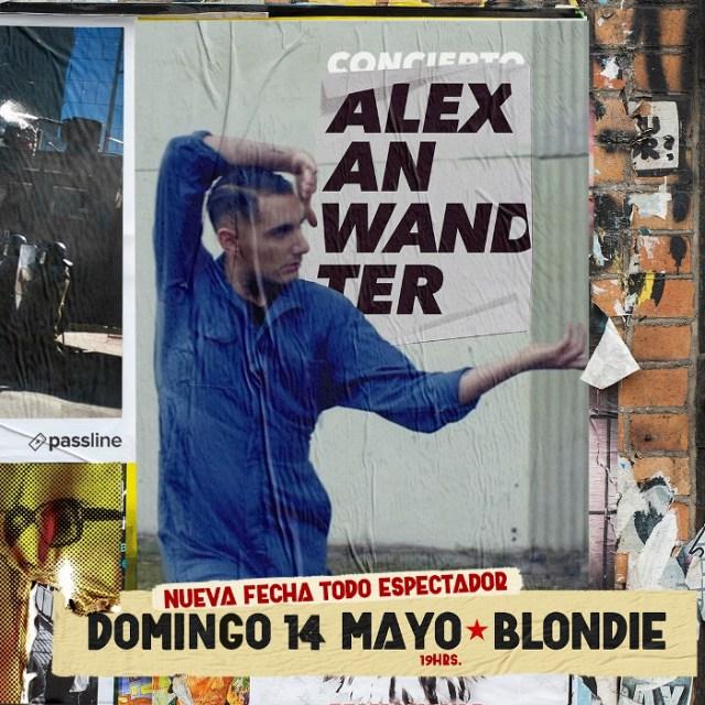 Alex Anwandter en la Blondie