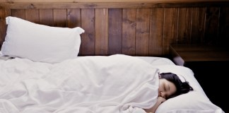 felicidad de dormir
