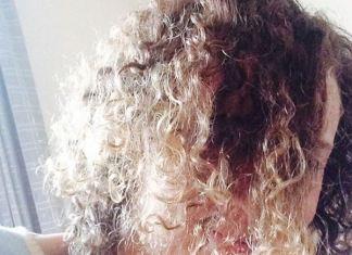 pelo crespo y fino