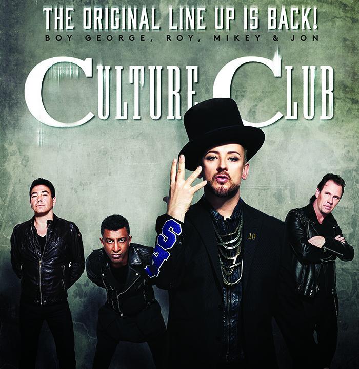 Culture Club viene a Chile