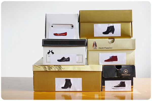 C mo guardar los zapatos zancada lo que conversas con - Como almacenar zapatos en casa ...