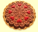 Kaleidoscope Heart, milk chocolate