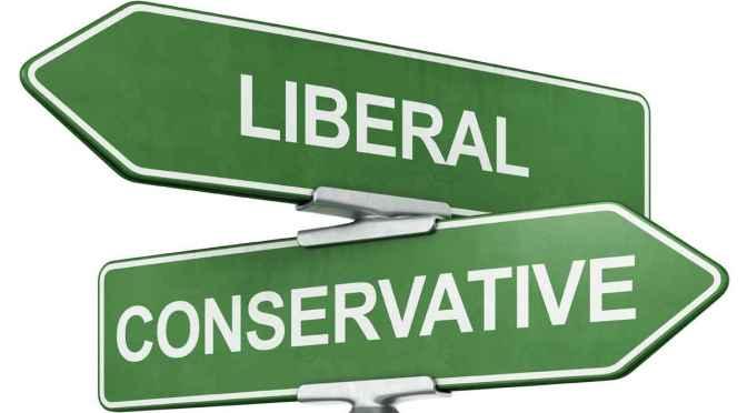 Schwarz und konservativ