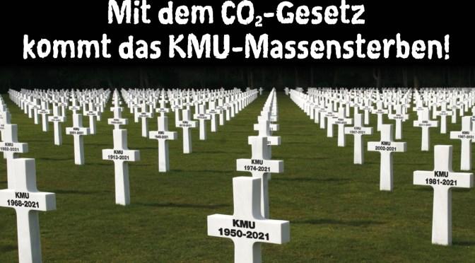 Mit dem CO2-Gesetz kommt das KMU-Massensterben