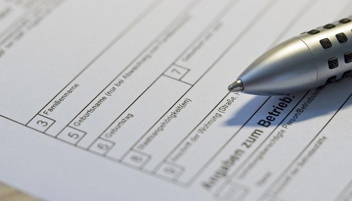 Pozew na formularzu