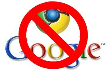 no-google-chrome