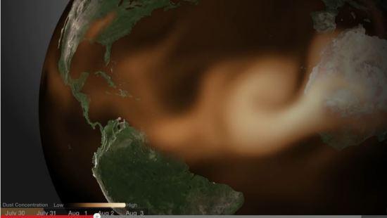 Sahara nelrawn ai laivut nawi Atlantic tipui vum ah...