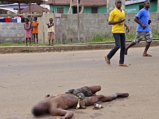 Africa ah Ebola in thihnak hetin lampui ah hlum menma