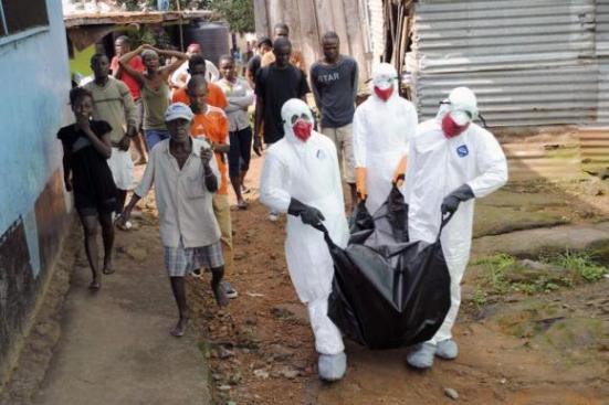 Africa ah Ebola in thi hetin phur