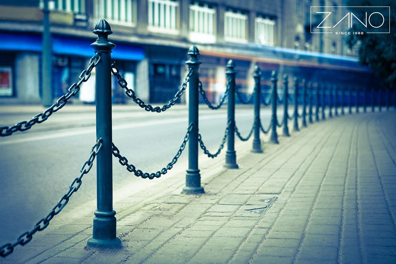 Bollard chain outdoor street furniture  ZANO Street