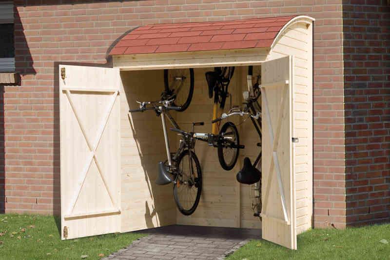 Weka Fahrradgarage Mehrzweckbox 160x134cm 3941613